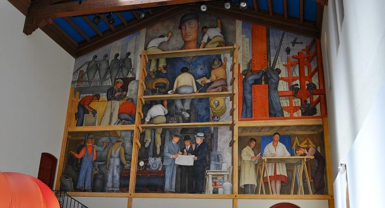 Diego Rivera in SF