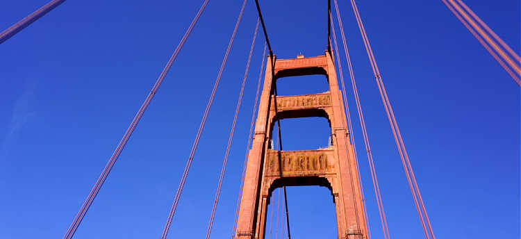 Golden Gate Bridge on my drive to Napa