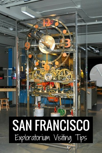 Exploratorium Visiting Tips