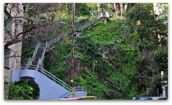 Filbert Street Stairs
