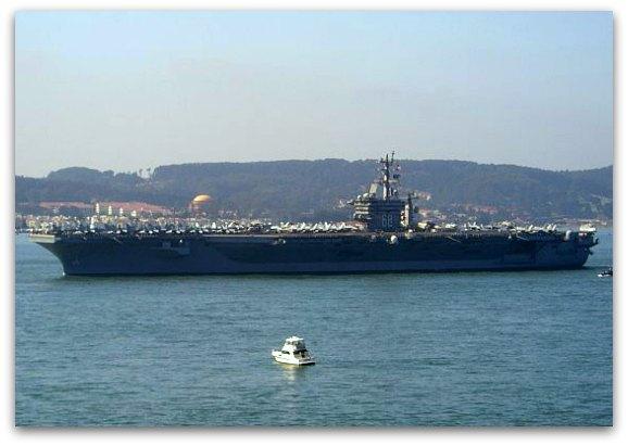 fleet week san francisco aircraft carrier