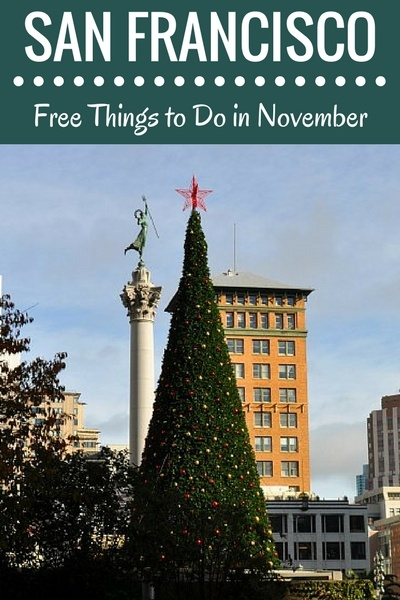 Free in November in San Francisco: Festivals, Holiday Events, & More
