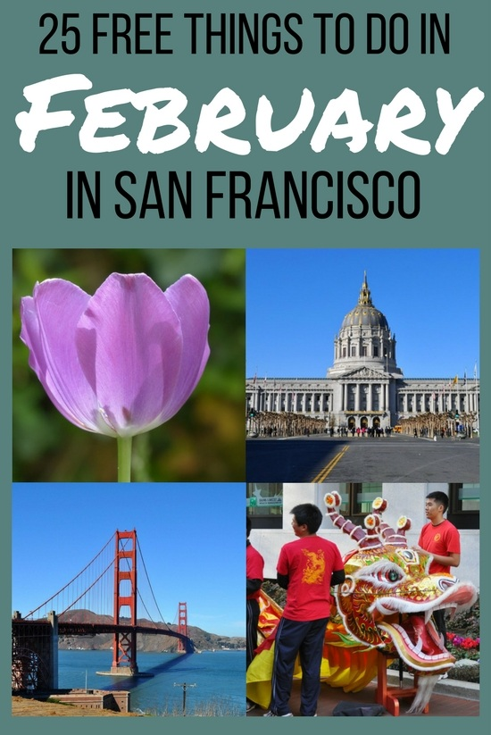 Free Things to Do in SF in February: 25 Events, Attractions, & Activities