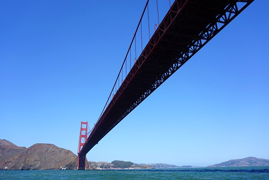 Cruising Under the Golden Gate Bridge