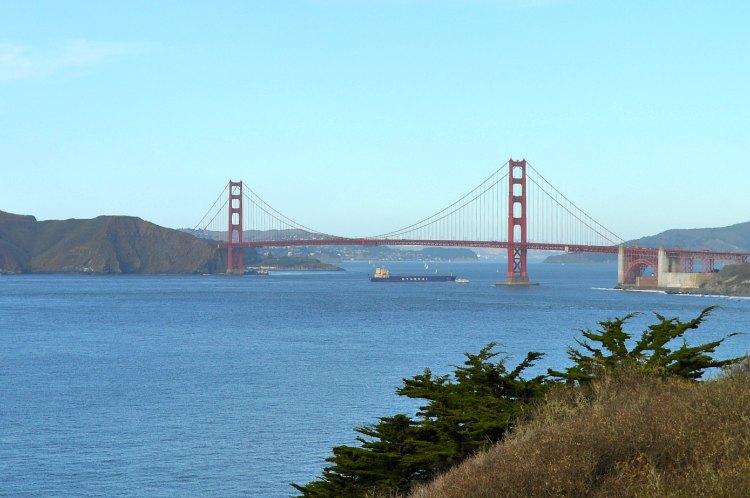 Golden Gate Bridge in November