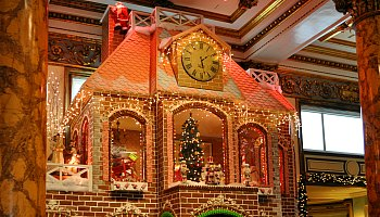 Gingerbread House at the Fairmonth