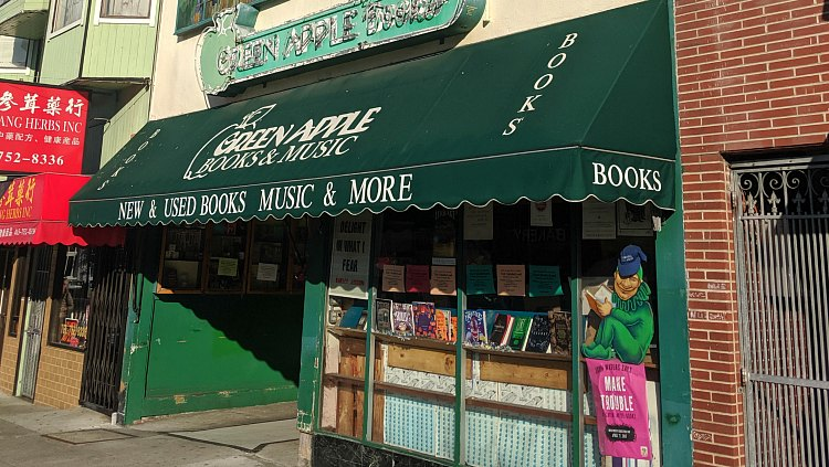 Green Apple Books in the Inner Richmond