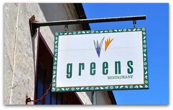 Greens Restaurant SF