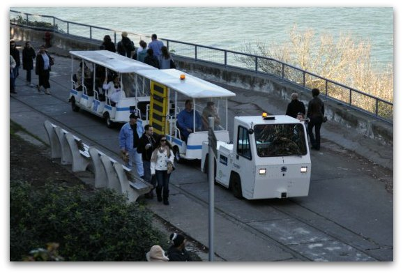 shuttle on alcatraz