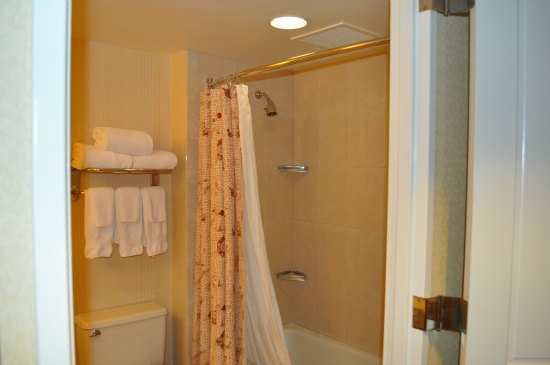shower at hilton union square