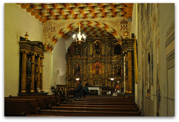 inside mission dolores