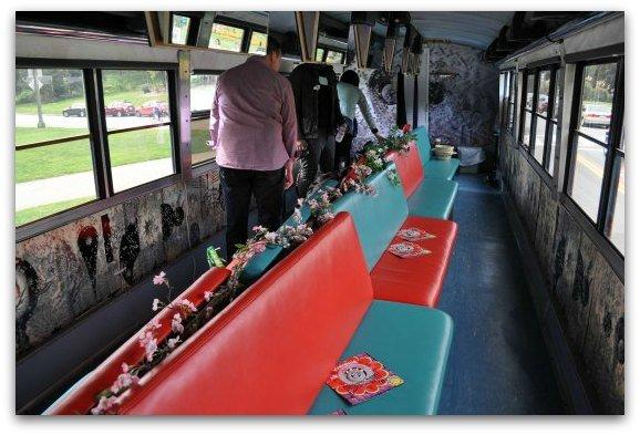 inside the magic bus
