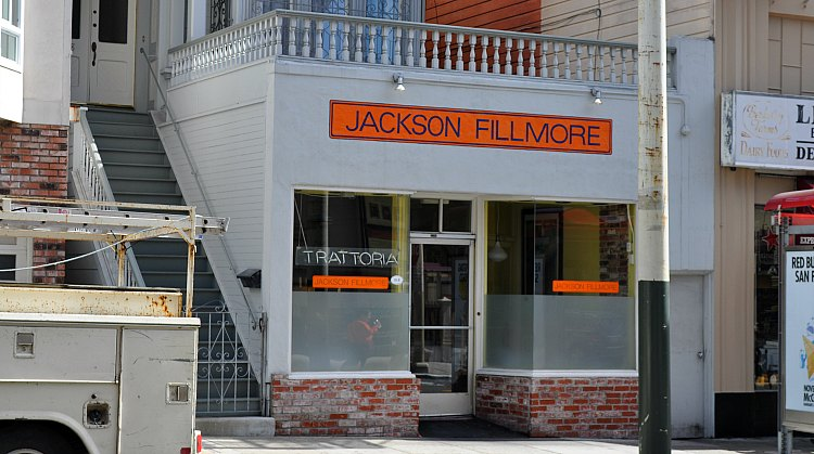 Jackson Fillmore Restaurant in SF