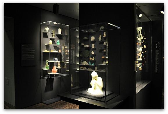 Jade Display at the Asian Art Museum