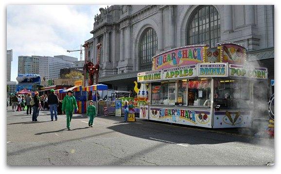 kids area st patricks festival