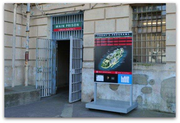 main prison entrance alcatraz