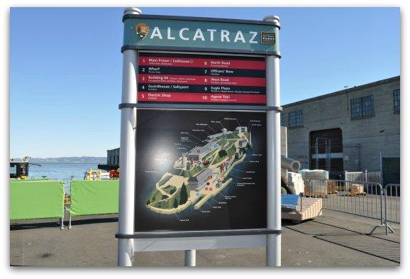 map at alcatraz landing