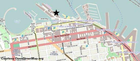 map uss pampanito