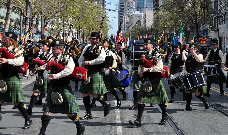 March St. Patrick's Day Parade
