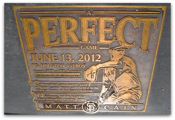 matt cain's perfect game