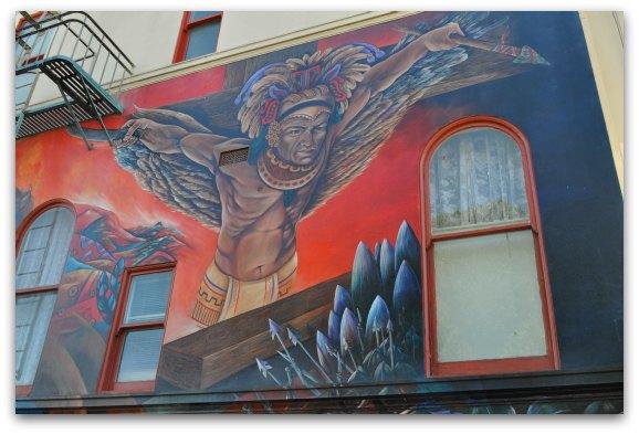san francisco mission murals church
