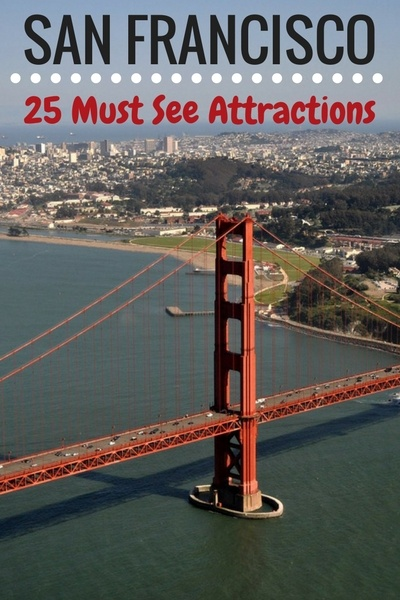 25 Must See San Francisco Attractions