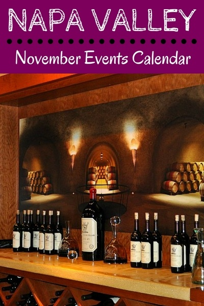 Napa November Events: Release Parties, Wine Tasting, Festivals, & More