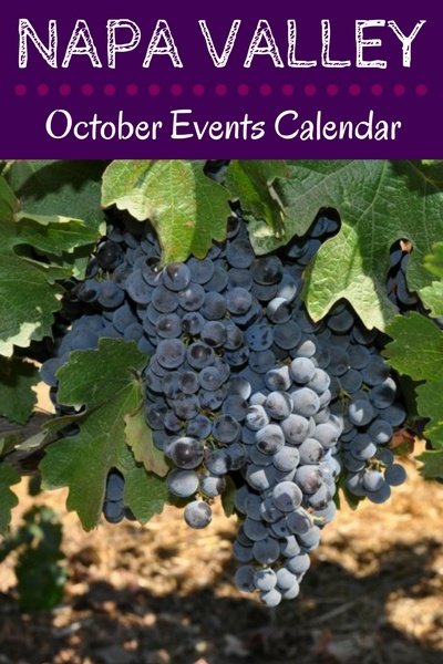 Napa Events in October: Calendar of Festivals, Wine Tasting Celebrations, Harvest Parties, & More