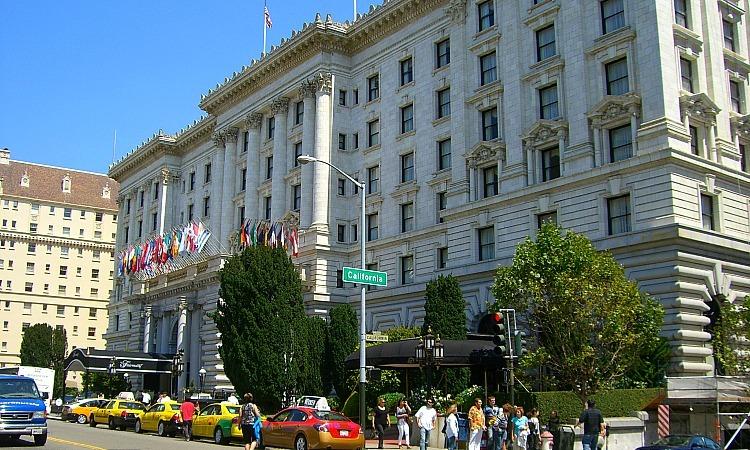 Nob Hill Fairmont Hotel