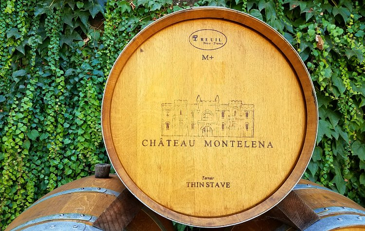 Oak Barrel at Chateau Montelena