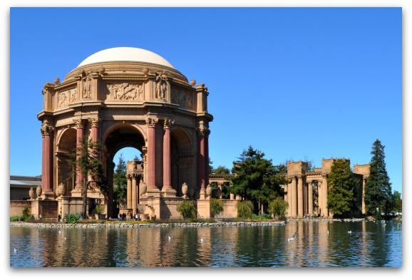 Across the Lake from the Palace of Fine Arts