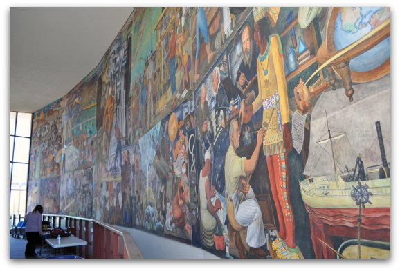 Diego rivera murals in san francisco tips to find all three for City college of san francisco diego rivera mural