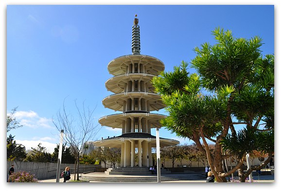 Peace Plaza in SF's Japantown