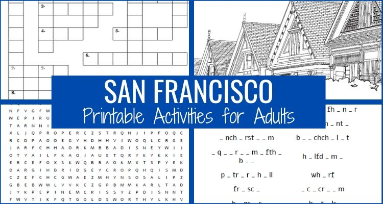 Printable Activities for Adults