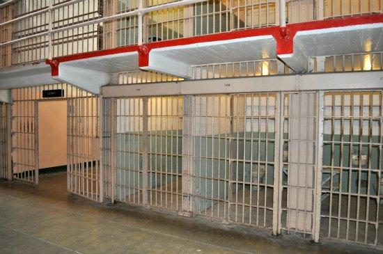 prison cells in alcatraz
