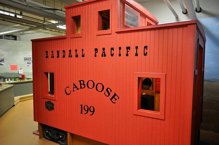 Randall Museum's Train Exhibit