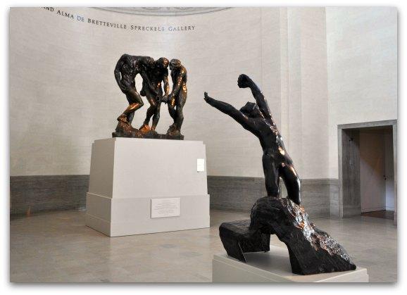 rodin statues legion of honor