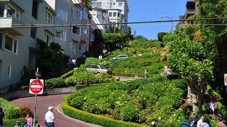 Russian Hill San Francisco, Lombard Street
