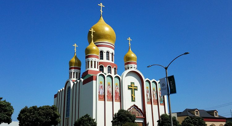 Russian Orthodox Church in the Outer Sunset in San Francisco