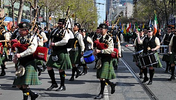 Saint Patrick's Day in San Francisco