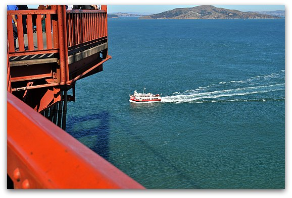 bay cruise in SF
