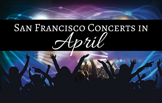 San Francisco Concerts in April