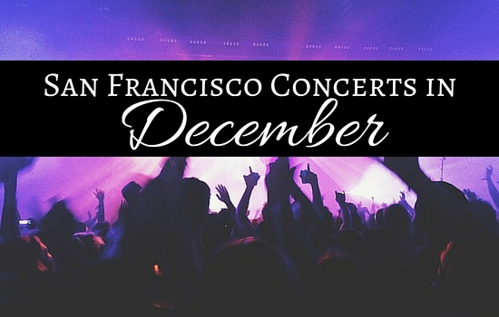 San Francisco Concerts in December