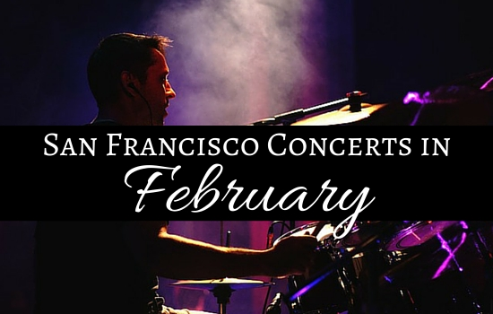 San Francisco concerts in February