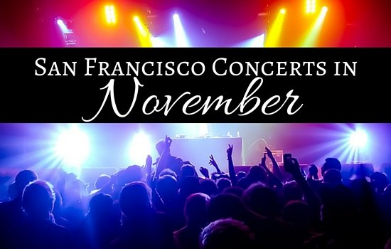 San Francisco Concerts in November