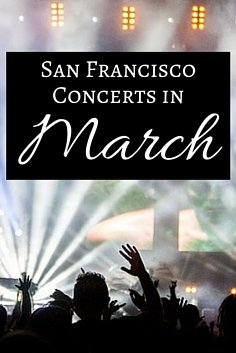 March Concerts in SF
