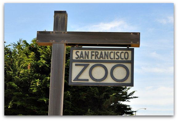 san francisco zoo sign