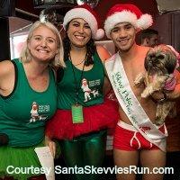 Santa Skivvies Run