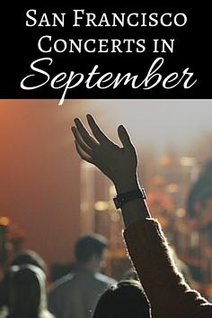 September Concerts in San Francisco