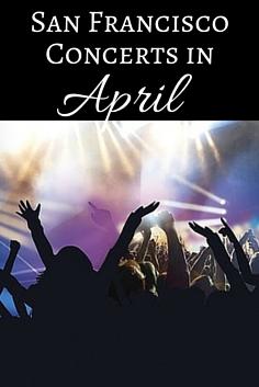 SF Concerts in April